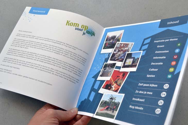 folder stad Leuven 'Kom op voor je wijk'