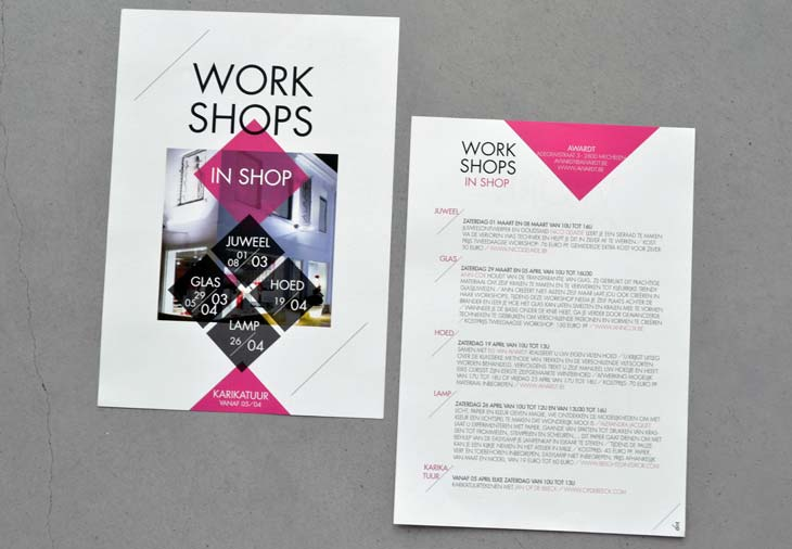 flyer Award/t Workshops