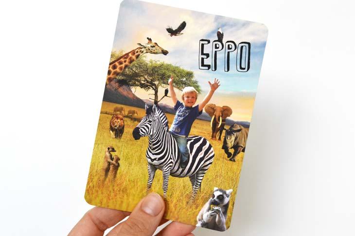 geboortekaartje Eppo
