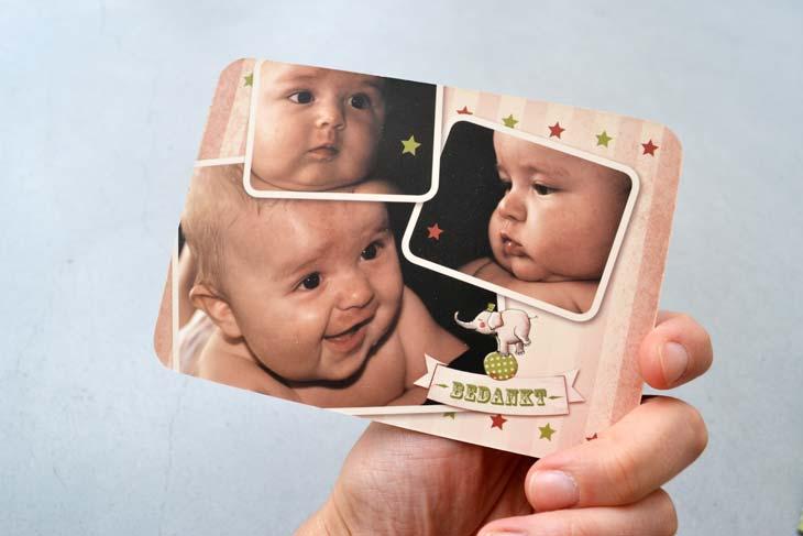 geboortekaartje Seb